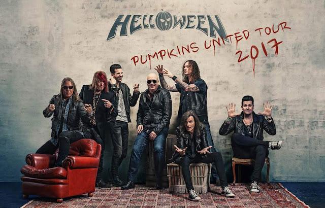 Mira aquí el setlist del primer show de la gira de Helloween