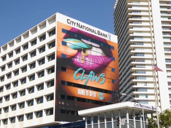 Giant Claws series premiere billboard