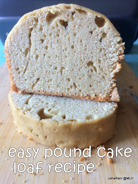 Simple Pound Cake Recipe
