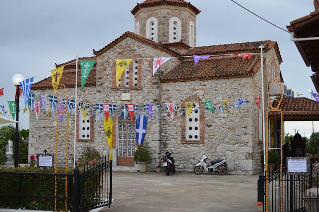 Γιορτάζουν τον Άγιο Αθανάσιο στο Κουρτάκι