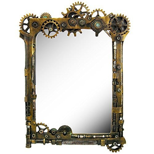 Steampunk Inspired Mirror