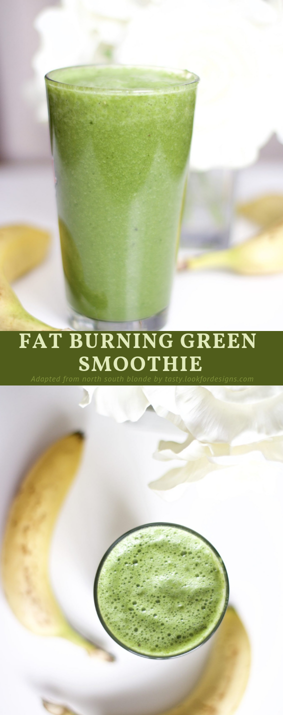 Fat Burning Green Smoothie Recipe