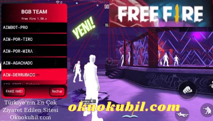 Free Fire v1.59.x BGM Team Mod Menü Headshot, Aimbot, Speed Hack