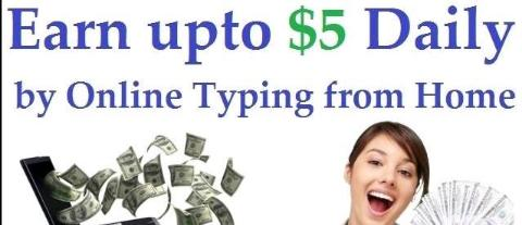online earn money by typing