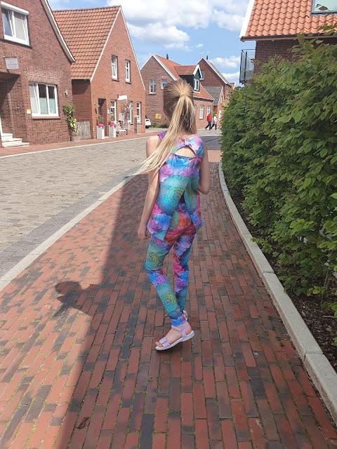 Clara legging and tank top