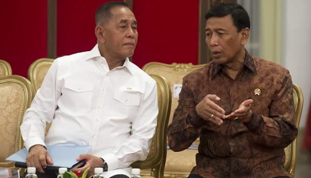 Menurut Konstitusi, Menhan Ryamizard Lebih Penting dari Wiranto