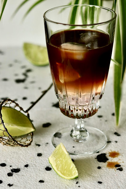 ☕️ hibiskusowa kawa espresso tonic