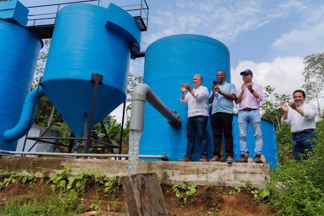 Cabecera municipal Bellavista en Bojayá ya tiene 100% de cobertura en agua potable