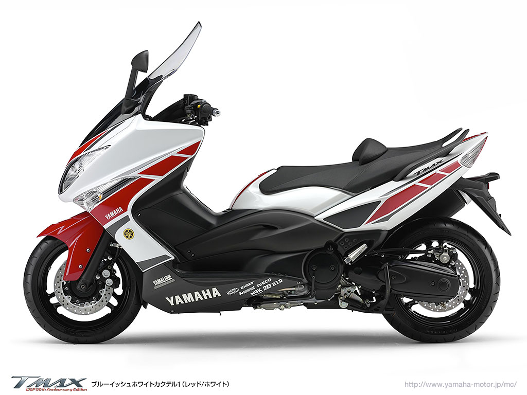 planet japan blog yamaha tmax 500 wgp 50th anniversary. Black Bedroom Furniture Sets. Home Design Ideas