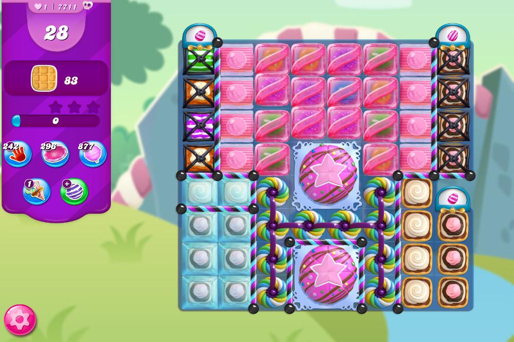 Candy Crush Saga level 7711