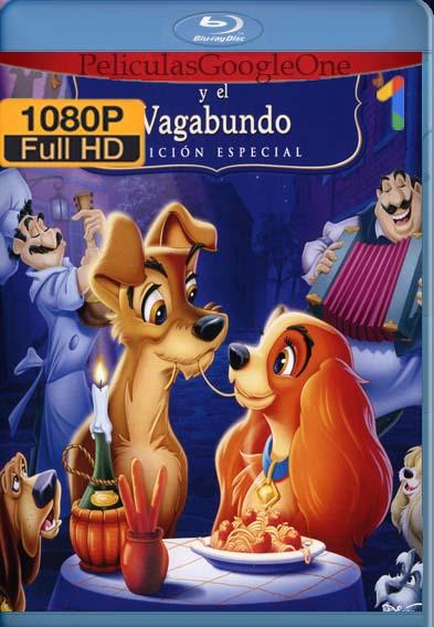 La dama y el vagabundo (1955) [1080p BRrip] [Latino-Inglés] [LaPipiotaHD]