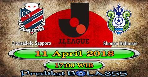 Prediksi Bola855 Consadole Sapporo vs Shonan Bellmare 11 April 2018