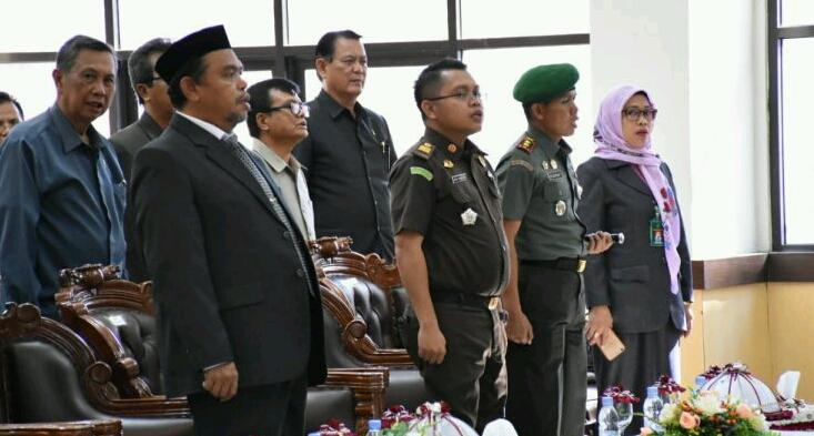 Ketua DPRD Hadiri Pelantikan Ketua PN Sinjai