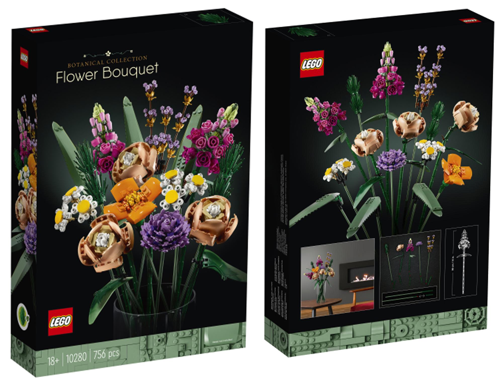 2021年大人のレゴ新製品情報!盆栽と花束:大人の欲求を満たす高級レゴシリーズ