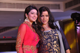 South Indian Celebrities Pos at Love For Handloom Collection Fashion Show  0152.jpg