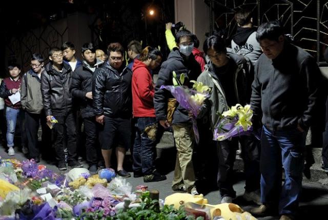 Un hombre decapita a una niña al azar delante de su madre en Taipei, Taiwán