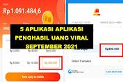 5 Aplikasi Penghasil Uang Viral dan Tercepat 2021