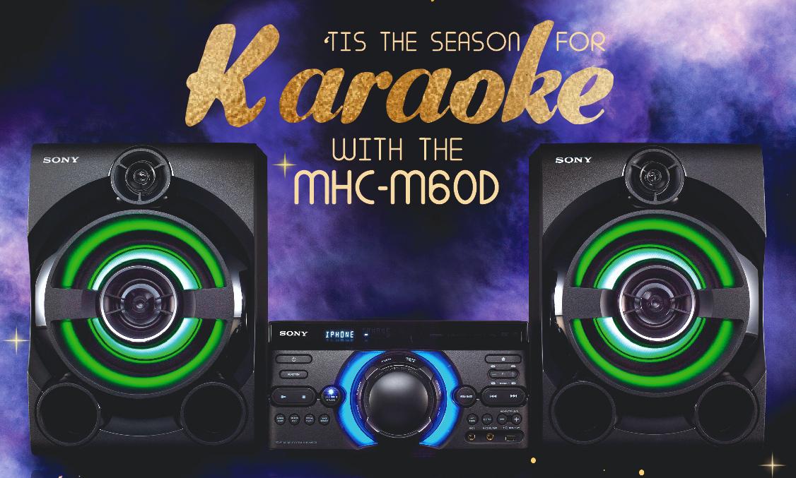Sony Karaoke Speaker