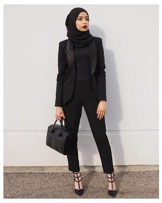 15 Model Baju Muslim Kerja Modern Untuk Penampilan Yang Simple Elegan