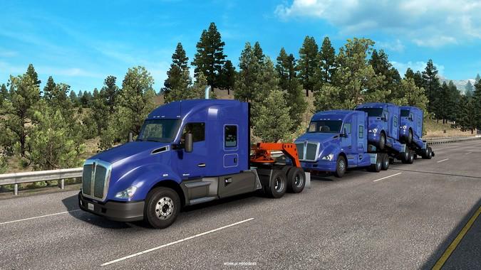American Truck Simulator ganhará novo pacote de carretas