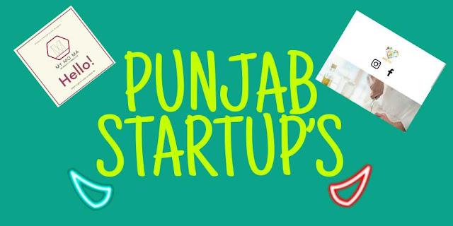 TOP 5 PUNJAB STARTUP'S   INDIAN STARTUP