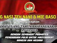 Download Contoh Spanduk Hut Bhayangkara ke 73.cdr