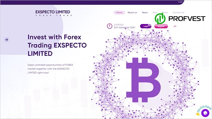 Exspecto Limited обзор и отзывы HYIP-проекта