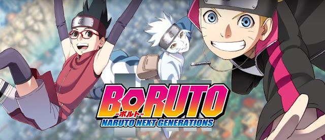 Anime Boruto Next Generations 2017 Kishimoto