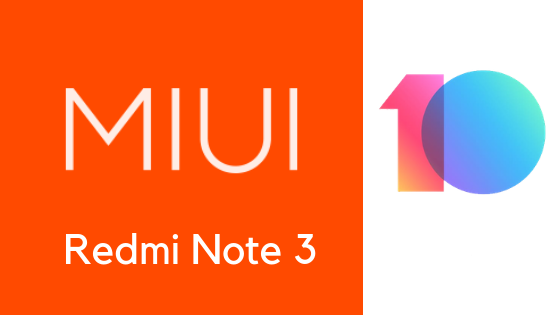 MI UI 10.1.1.0 Global stable ROM For Redmi Note 3