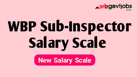 West Bengal Police SI Salary Chart