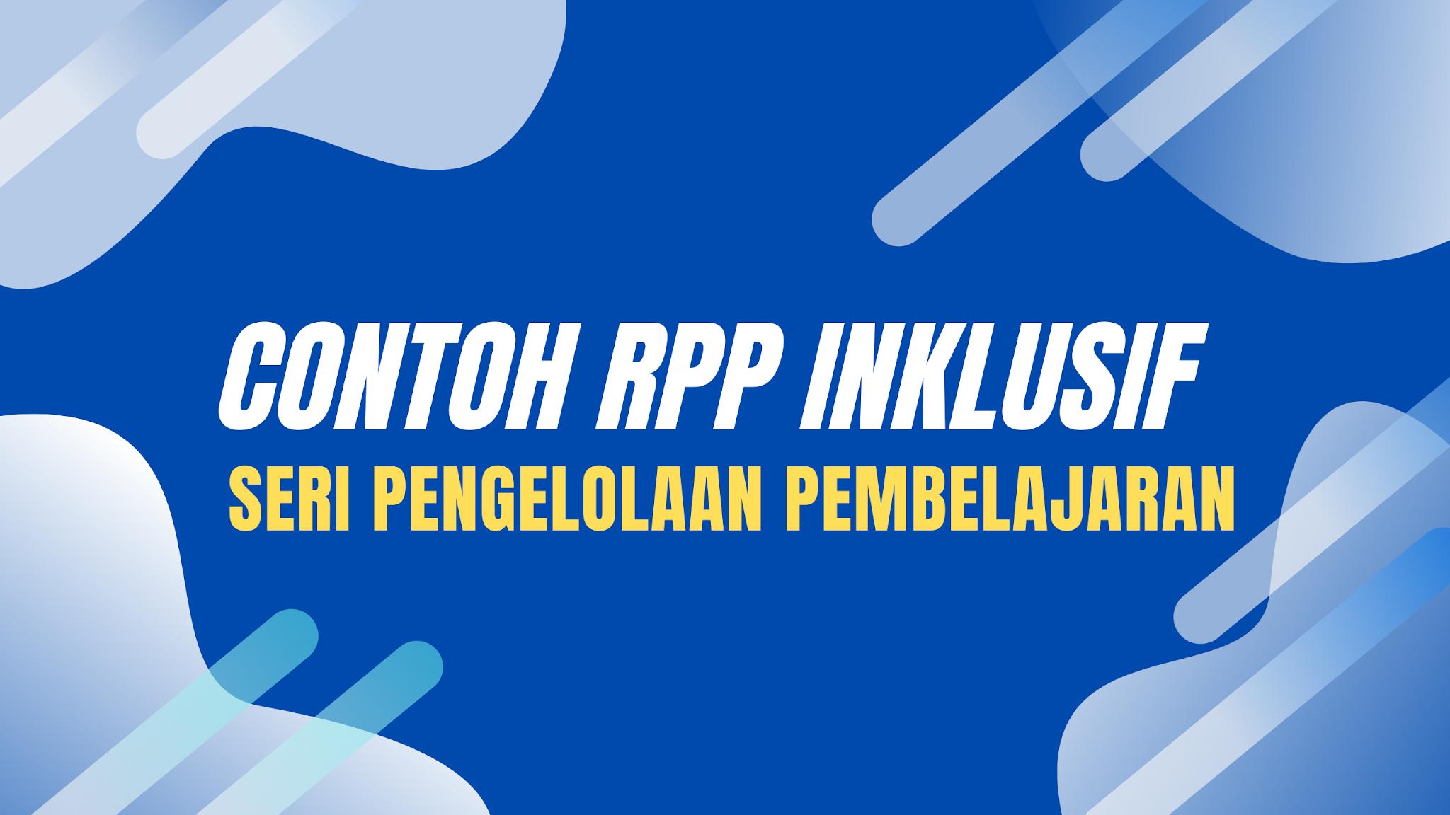 gambar Contoh RPP Inklusif
