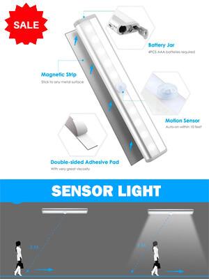 Automatic Motion Sensor Lights for home