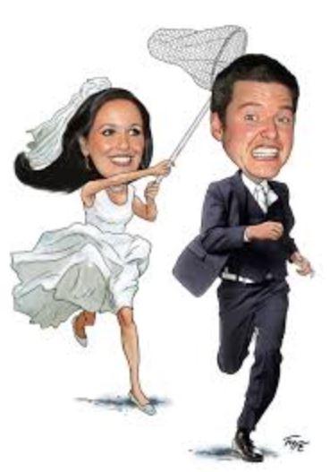 Foto kartun wedding
