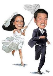 Gambar Karikatur Wedding Lucu