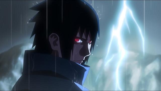 Gambar sasuke marah
