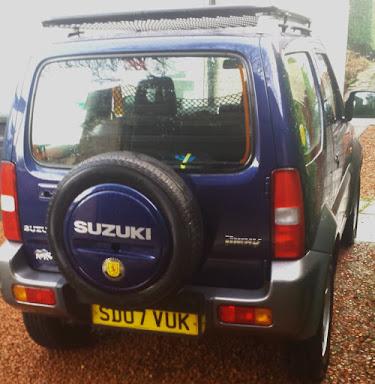 Suzuki Jimny rear view