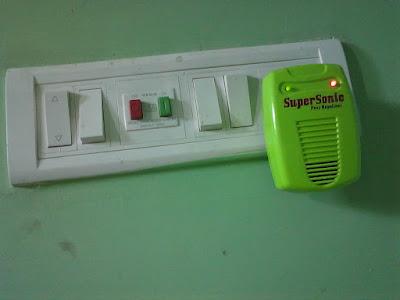 Ultrasonic -Pest- Repeller-on