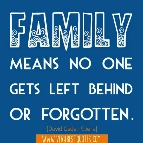 Best Motivational Quotes For Lefties: Best Quotes For Everyday: Family Means Gets Left Quotes