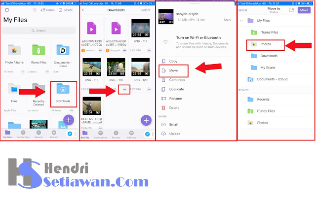 Mendownload Video Youtube Melalui iPhone/iPad | Disimpan di Galeri Photos