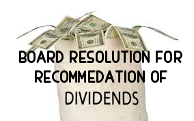 Board-Resolution-Recommendation-Dividend