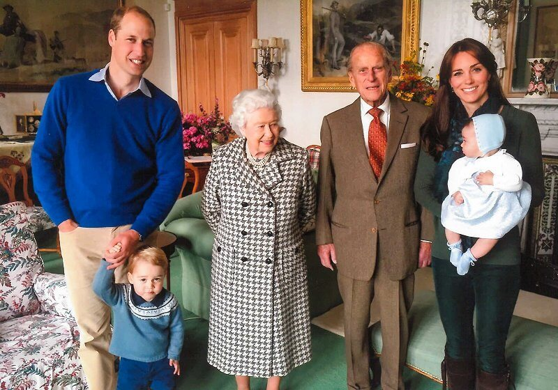 The Duke and Duchess of Cambridge, Prince George, Princess Charlotte, Princess Beatrice, Princess Eugenie, Prince Harry and Meghan Markle