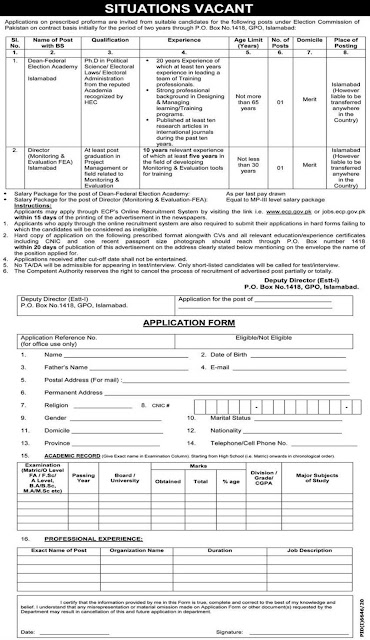 Election Commision of Pakistan Jobs 2021-Government Jobs Latest-New Jobs 2021