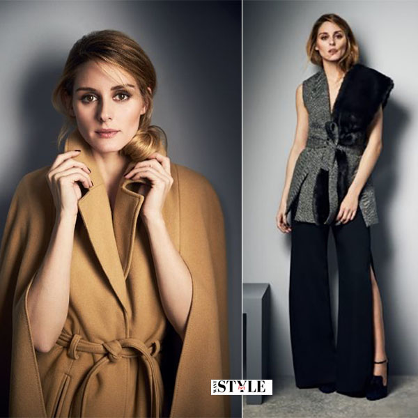 Olivia Palermo in camel coat coast campaign aw16 what she wore