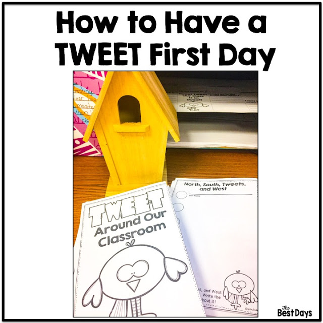 Tweet Your Classroom for the first day of school!