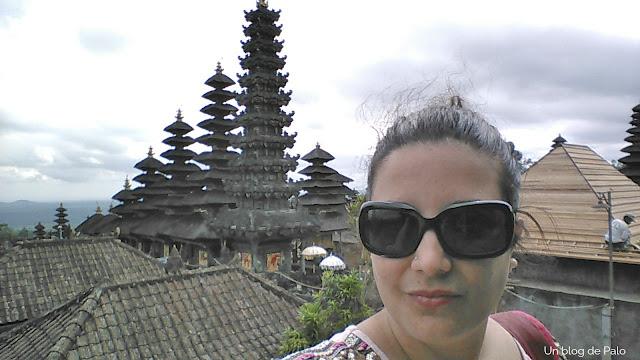 Selfie en el Templo de la Madre