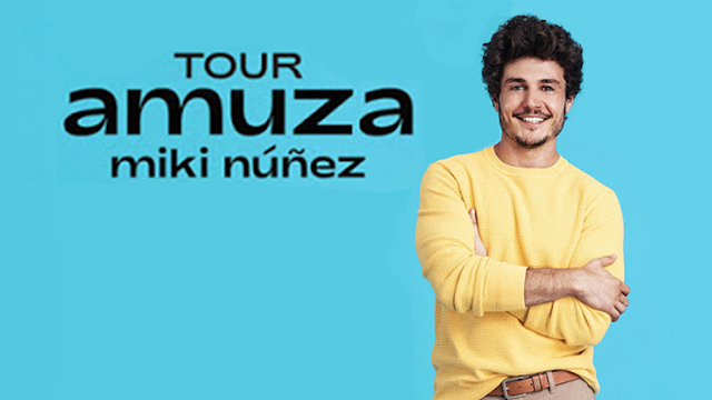 "Llega el ""Tour Amuza"", la primera gira de Miki Núñez"