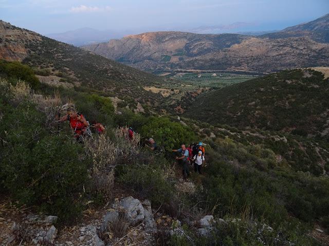 Πεζοπορία με πανσέληνο για την Βουνοπαρέα Αργολίδας