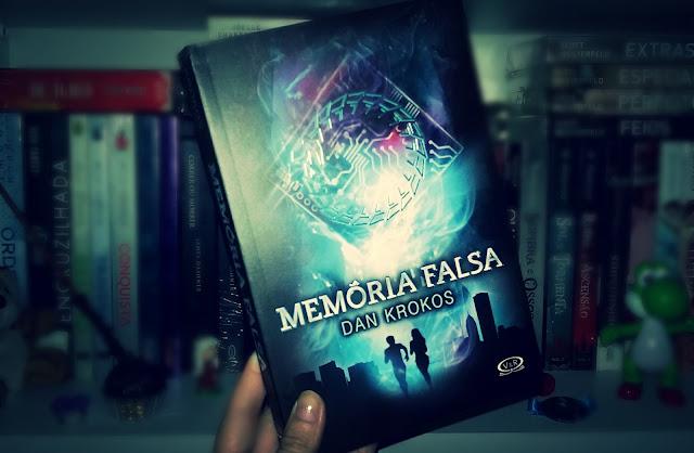 Livro Memória Falsa - Dan krokos