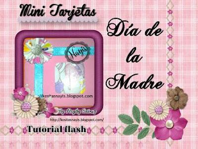 mini tarjetas dia de la madre