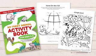 preschool animal activity pages